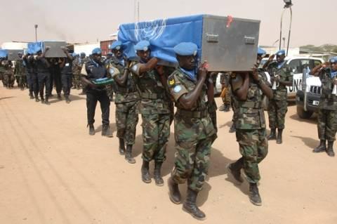 Τρεις κυανόκρανοι νεκροί στο Νταρφούρ