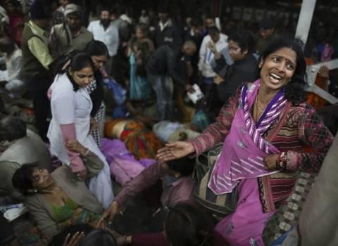 Ινδία:Αυξάνεται ο αριθμός των νεκρών από ποδοπάτημα