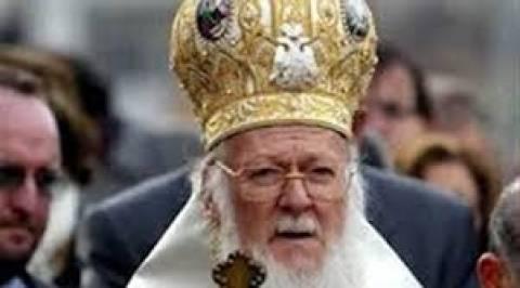 O Οικουμενικός πατριάρχης με τους απόρους σε συσσίτια στη Θεσσαλονίκη