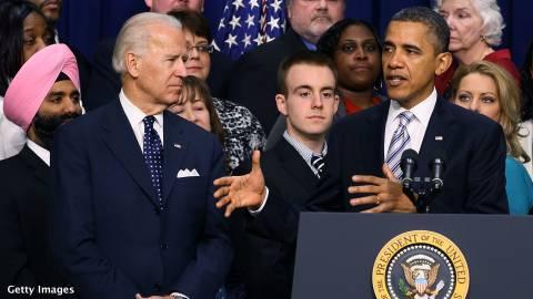Συνάντηση Ομπάμα-Μπάιντεν με το Κονγκρέσο