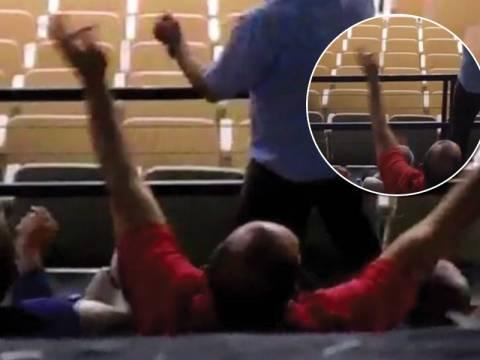 Χειρονομία που σοκάρει από τον ιδιοκτήτη του Ολυμπιακού (vid)