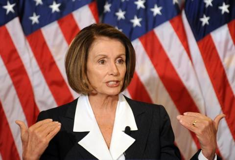 ΗΠΑ: Αισιόδοξη η Νάνσι Πελόσι ότι θα αποτραπεί η χρεωκοπία