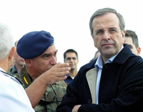 Σαμαράς: Υψηλό φρόνημα και αποφασιστικότητα στις Ένοπλες Δυνάμεις