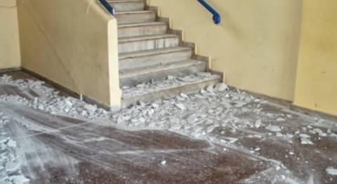 Κατέρρευσε οροφή σε σχολείο της Μακεδονίας