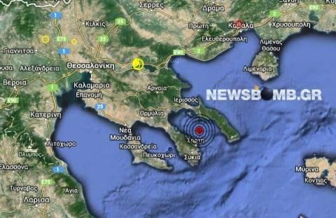 Σεισμός 3,1 Ρίχτερ στον Σιγγιτικό κόλπο
