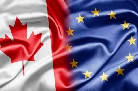 Στα «σκαριά» εμπορική συμφωνία μεταξύ Καναδά και ΕΕ