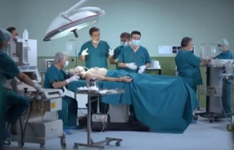 ΑΠΟΚΛΕΙΣΤΙΚΟ: Στο χειρουργείο ο Σαμαράς! (VIDEO)