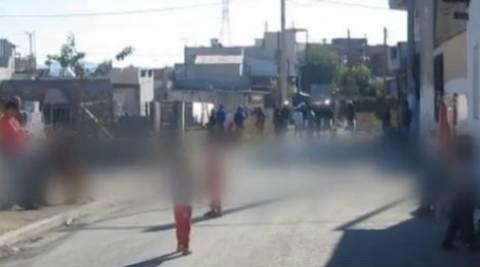 Eπιχείρηση της ΕΛ.ΑΣ σε καταυλισμούς σε Ζεφύρι και Μενίδι (pics+video)