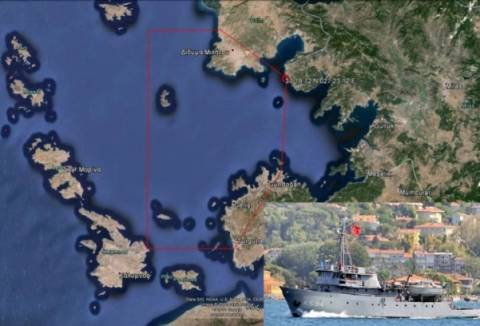 Πρόκληση Τούρκων:Βγάζουν σε Κάλυμνο και Ίμια για έρευνες το «CUBUKLU»!