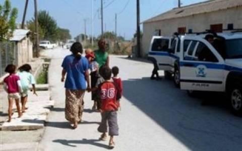 Εννέα συλλήψεις σε καταυλισμούς Ρομά