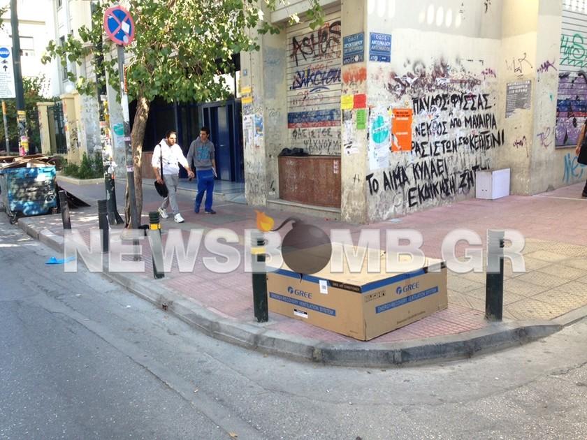 Επιχείρηση «σκούπα» στην ΑΣΟΕΕ - ΜΑΤ εισέβαλαν στο προαύλιο (pics)