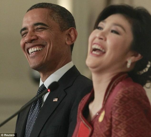 Το...φλερτ του Μπαράκ Ομπάμα