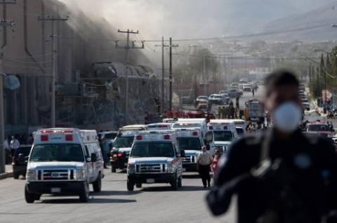 Μεξικό: Ένας νεκρός από την έκρηξη σε εργοστάσιο καραμέλας