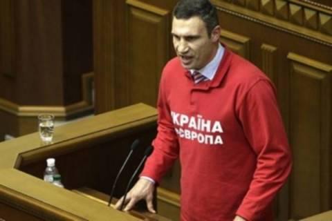 Υποψήφιος πρόεδρος της Ουκρανίας ο Klitschko