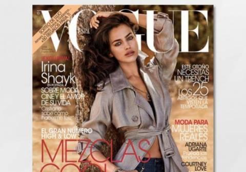 Irina Shayk: το πρώτο της εξώφυλλο για τη Vogue είναι γεγονός
