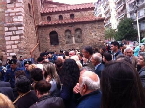 Θεσσαλονίκη: Αναστάτωση στον Αγ. Δημήτριο