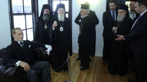 Hurriyet::«Ο Βαρθολομαίος προσεύχεται για μεταρρυθμίσεις  Ατατούρκ»