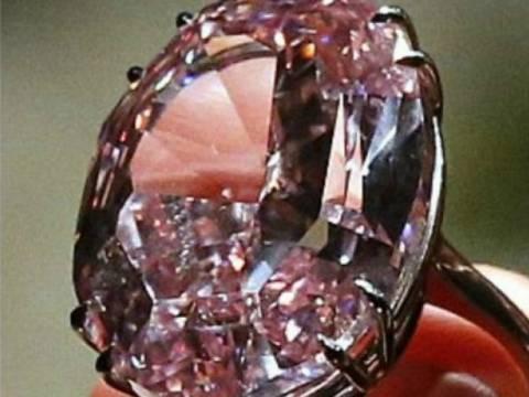 Δείτε το πιο ακριβό ροζ διαμάντι του κόσμου!