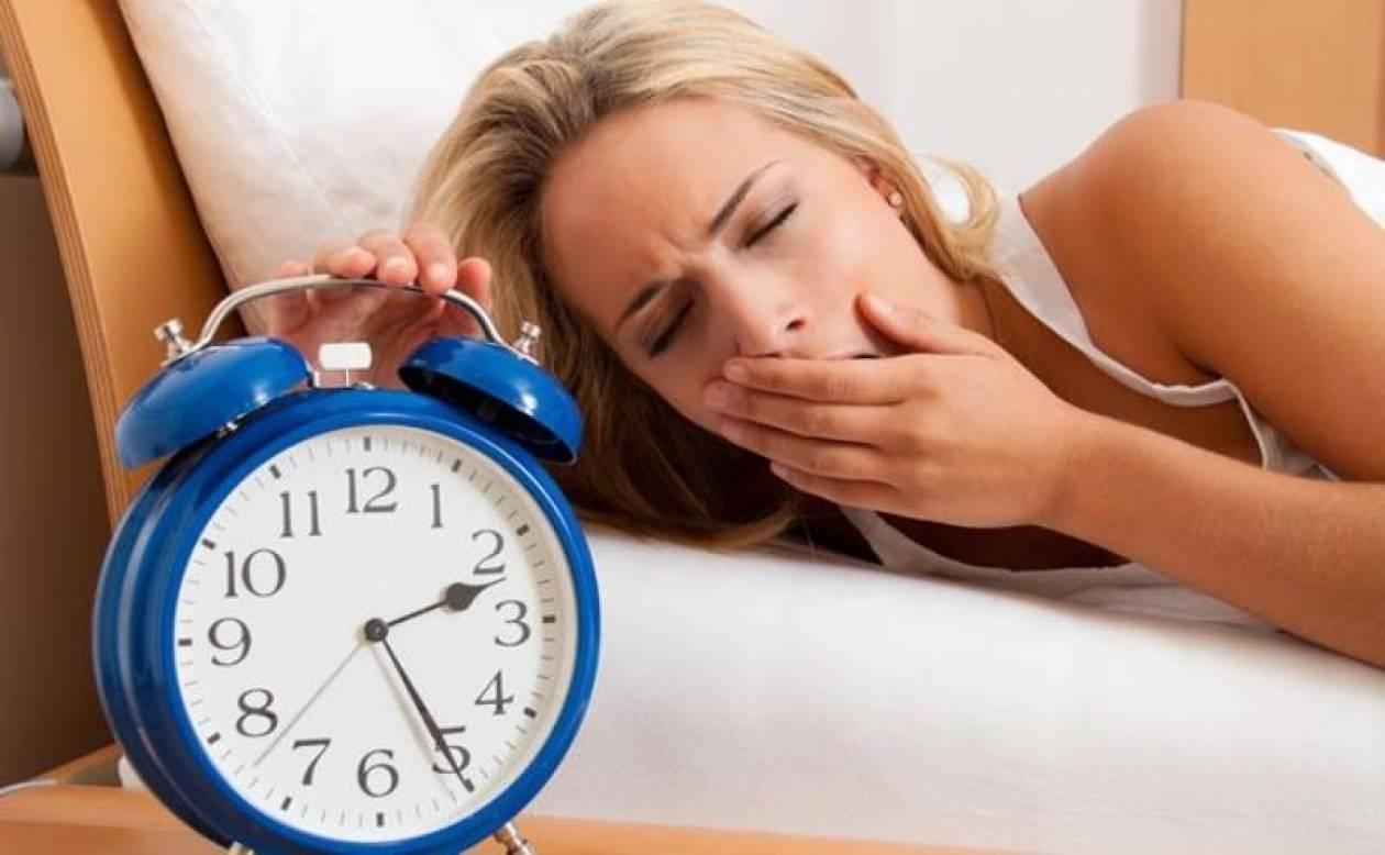 Πέντε σημάδια ότι σας λείπει ύπνος