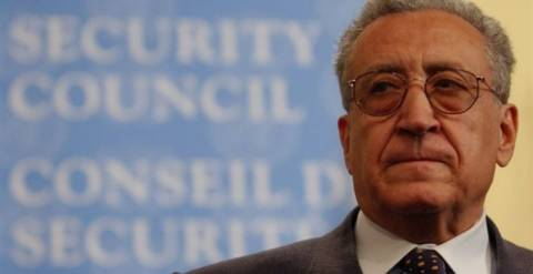 Στη Δαμασκό για συνομιλίες ο Λαχντάρ Μπραχίμι