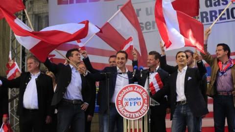 Αυστρία: Ανησυχία προκαλεί η άνοδος της ακροδεξιάς