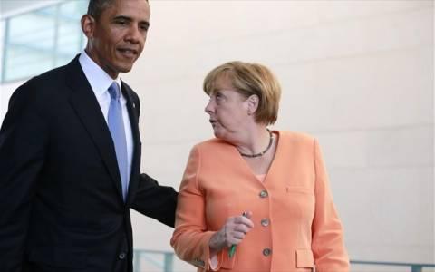 Δεν απαντά ο Ομπάμα για το κινητό της Μέρκελ