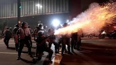 Εμπόλεμη ζώνη οι δρόμοι του Σάο Πάολο