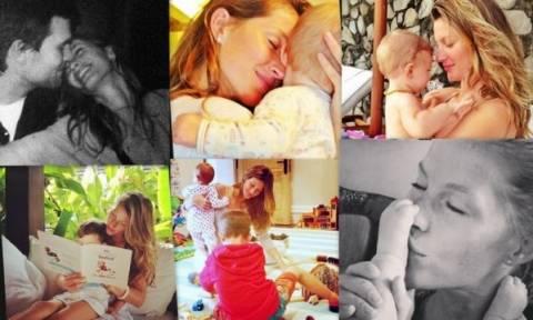 Ζιζέλ: Μία πανέμορφη, μαμά σε προσωπικές οικογενειακές στιγμές!