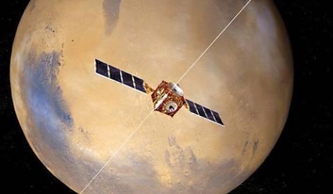 Τρισδιάστατος χάρτης του Άρη
