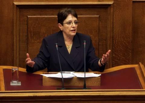 Απόσυρση του ενιαίου φόρου ακινήτων ζητά η Παπαρήγα