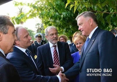 Ρώσοι και Έλληνες τίμησαν μαζί τον Καποδίστρια στο Ναύπλιο