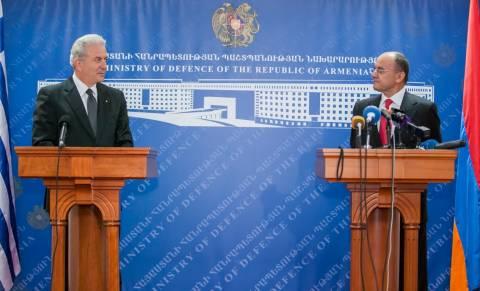 Αβραμόπουλος:Νέο κεφάλαιο στις αμυντικές σχέσεις μας με την Αρμενία!