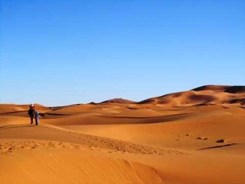 Δέκα άνθρωποι έχασαν τη ζωή τους όταν το όχημά τους χάλασε στη Σαχάρα