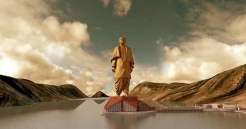 Στην Ινδία θα κατασκευαστεί το μεγαλύτερο άγαλμα του κόσμου