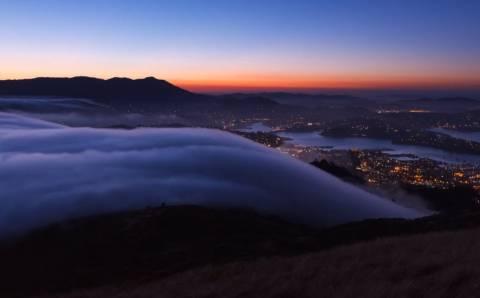 Η διάσημη ομίχλη του Σαν Φρανσίσκο σε ένα μοναδικής ομορφιάς βίντεο!