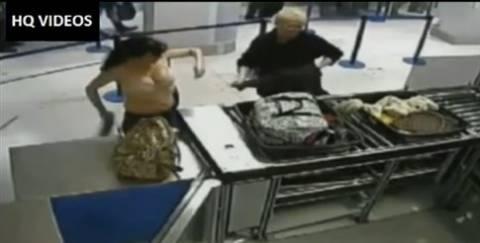 Βίντεο: Δυο γυναίκες τα... «πέταξαν» όλα στο αεροδρόμιο χωρίς λόγο!