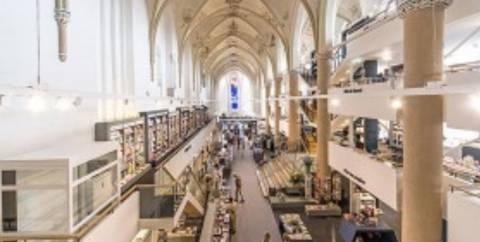 Ολλανδία: Καθεδρικός ναός έγινε βιβλιοπωλείο (pics)