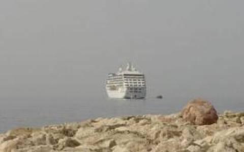Το κρουαζιερόπλοιο Europa στην Κάτω Πάφο