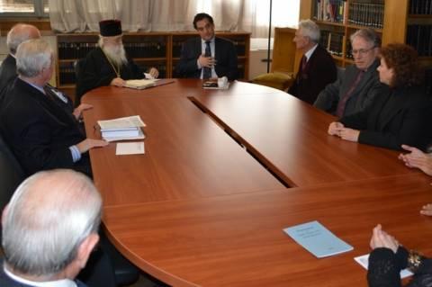 Συνάντηση Γεωργιάδη με το προσωρινό ΔΣ του Ελληνικού Ερυθρού Σταυρού