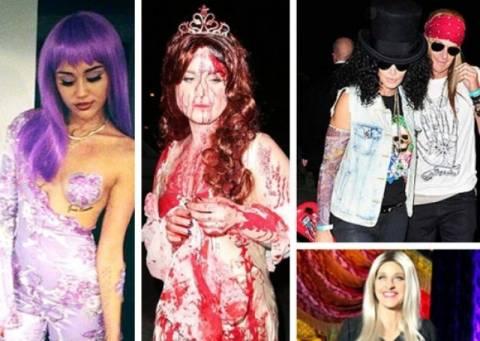 Oι πιο εντυπωσιακές celebrity μεταμφιέσεις του φετινού Halloween