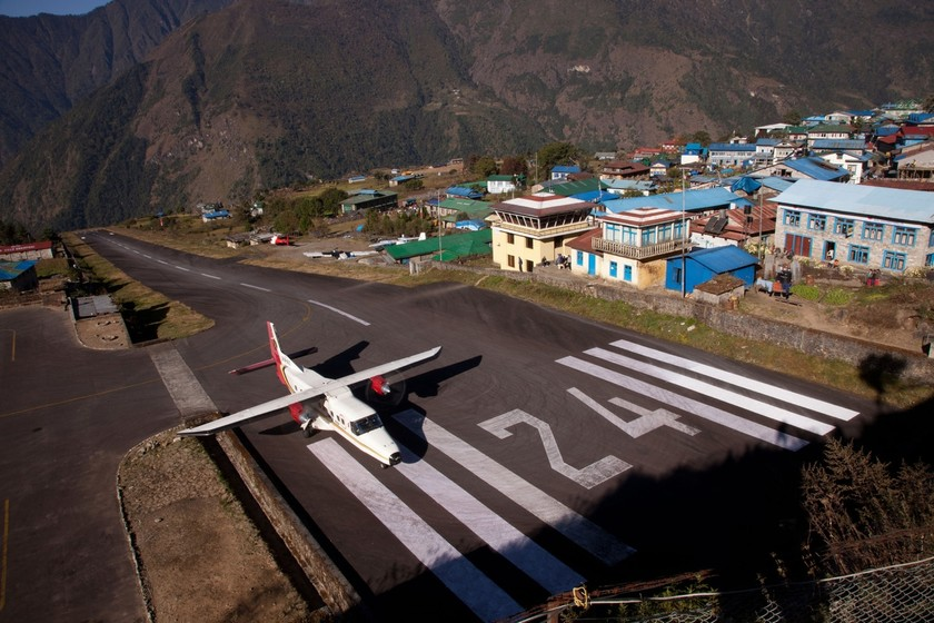 Φωτογραφίες από το πιο επικίνδυνο αεροδρόμιο του κόσμου
