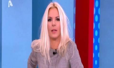 Αννίτα Πάνια: «Η κυρία Βέφα αποχώρησε από την εκπομπή γιατί στράβωσε »