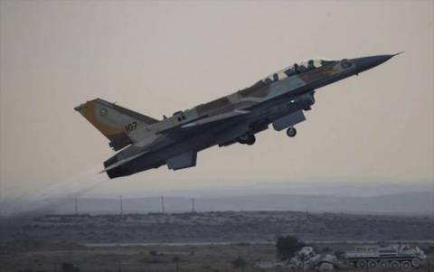 Ισραηλινό αεροσκάφος κατέπεσε στη Λωρίδα της Γάζας
