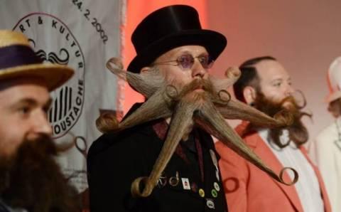 Παγκόσμιο πρωτάθλημα για το καλύτερο... μουστάκι στη Γερμανία