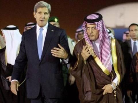 Κοινή γραμμή ΗΠΑ-Σαουδικής Αραβίας για τη Συρία