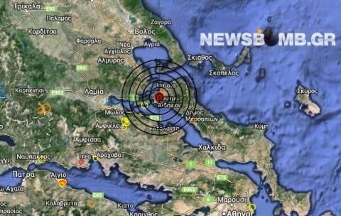 Σεισμός 4,0 Ρίχτερ στην Αιδηψό