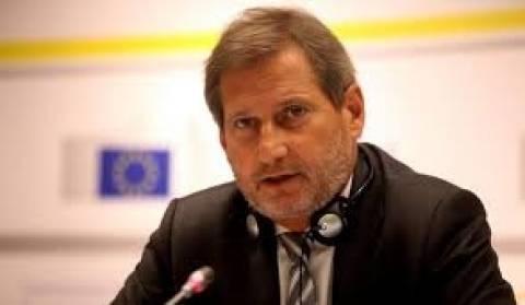 Γιοχάνες Χαν: Θα διπλασιαστούν τα κονδύλια για την ευρωπεριφέρεια