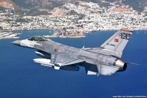 Υπερπτήση τουρκικών μαχητικών στην Ικαρία