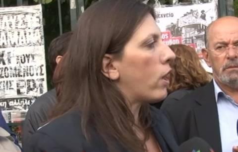 Κωνσταντοπούλου: Ενέργεια εκτροπής από την κυβέρνηση (vid)