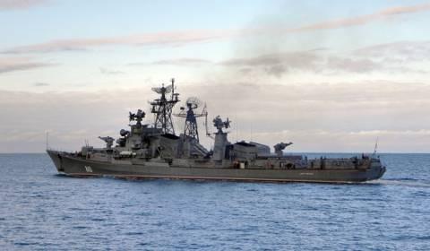 Στο Ιόνιο πέλαγος πολεμικά πλοία του ΠΝ της Ιταλίας